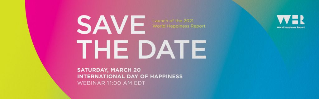 Launch of the 2021 World Happiness Report