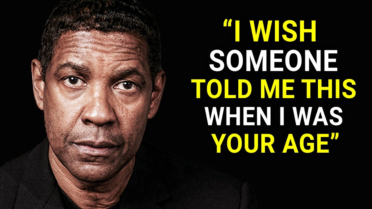 denzel washington's life advice will leave you speechless (must watch) youtube