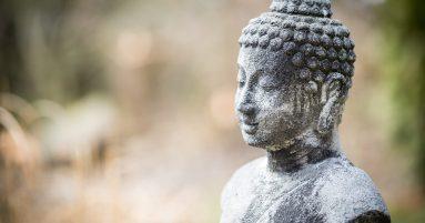 gray concrete statue of Buddha