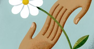 Kindness contagion