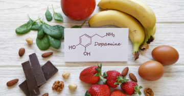 dopamine boosting,foods.,assortment,of,food,for,good,mood,and,happiness.