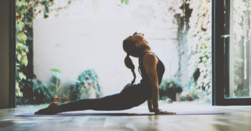 portrait,of,gorgeous,young,woman,practicing,yoga,indoor.,beautiful,girl