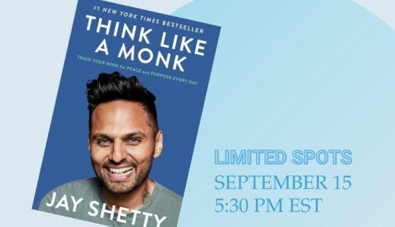think like a monk book club